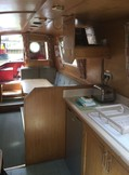 Galley and dinette through view