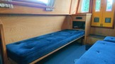 Dinette seating or single berth