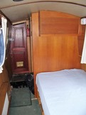 Double berth at stern