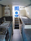 Galley & bunks