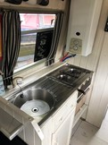 Galley Sink and Hob