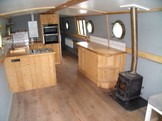 View from galley