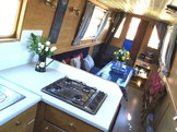 Galley to dinette