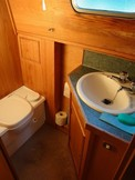 Washbasin and WC